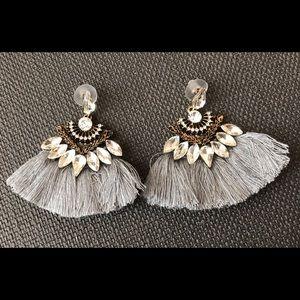 Jewelry - Bohemian Tassel Rhinestone Earrings